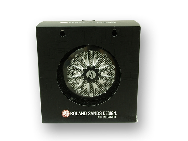 ROLAND SANDS ローランドサンズデザイン RSD 1010-0902 BOSS エアクリーナーキット CC 91-XL ガッツ クローム 1010-0902