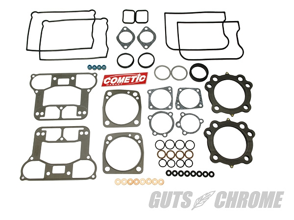 COMETIC GASKET コメティック 3400-9747 メタル TOP END GSKET キット 84-91 ガッツ クローム 3400-9747
