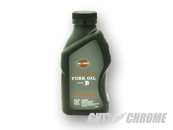 Harley_Genuine-62600025 genuine fork oil type B guts chrome 62600025
