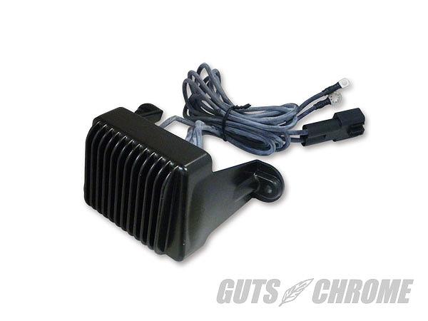 GUTS CHROME ガッツ クローム 8600-8380 レギュレーター 97-01年ツアラー用 ブラック ガッツ クローム 8600-8380