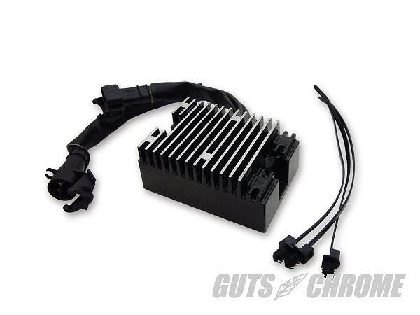 GUTS CHROME ガッツ クローム 8600-8392 レギュレーター 08年以降スポーツスター用 ブラック ガッツ クローム 8600-8392