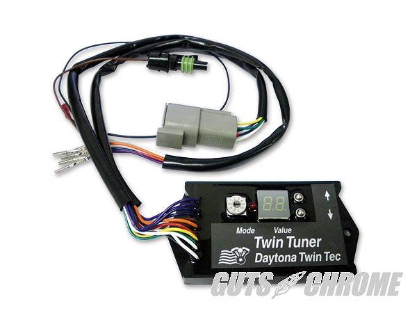 Daytona Twin Tec ツインテック 9800-3011 FIコントローラー TWIN-TUNER ガッツ クローム 9800-3011