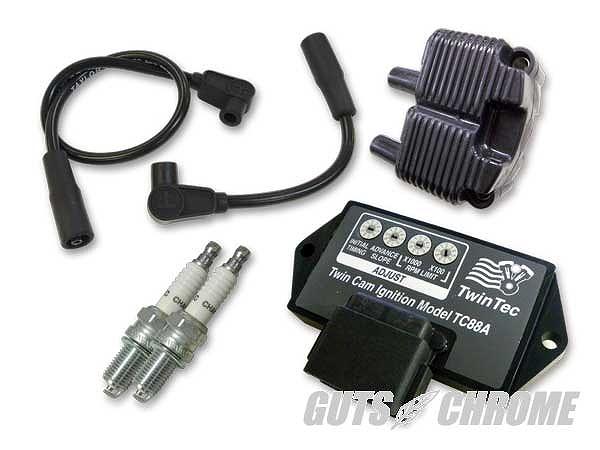 Daytona Twin Tec ツインテック 9800-3110 TC88A 点火リフレッシュセット 黒 04-0年6FXD/ST ガッツ クローム 9800-3110