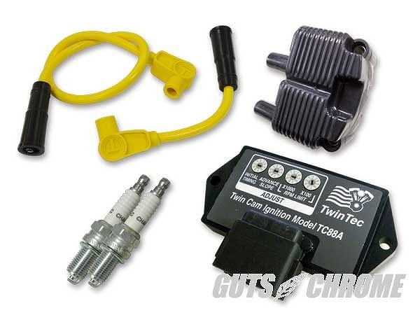 Daytona Twin Tec ツインテック 9800-3113 TC88A 点火リフレッシュセット 黄 04-06年FXD/ST ガッツ クローム 9800-3113