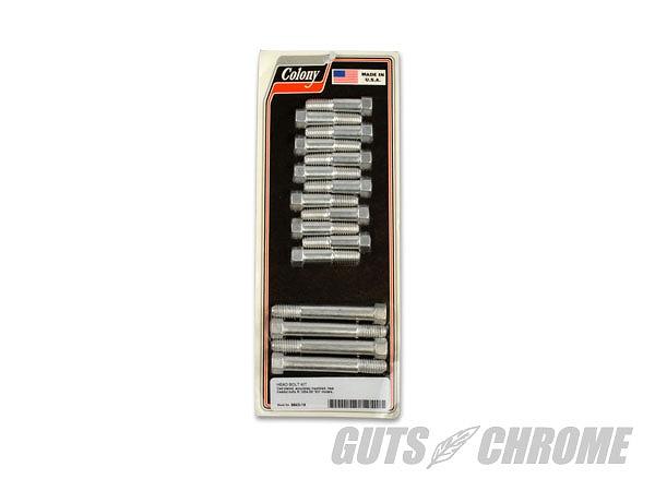COLONY G9643-16 シリンダーヘッドボルトセット カドミウム 54-56Kモデル ガッツ クローム g9643-16