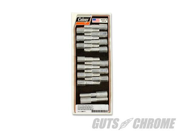 COLONY G9889-16 シリンダーヘッドボルトセット カドミウム WL/Gモデル ガッツ クローム g9889-16