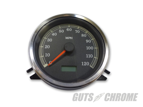 GUTS CHROME ガッツ クローム 39-0453 Electronic Speedometer 純正レプリカスピードメーター ガッツ クローム 39-0453