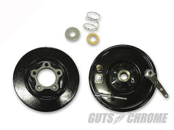 GUTS CHROME ガッツ クローム WWC-28-623 スプリンガー用レプリカドラムブレーキキット ブラック ガッツ クローム