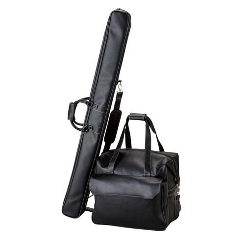 プロマリン PRO MARINE AHA012 ライトヘラカバン2点セット 2層式 ブラック へら用品 鞄 かばん ロッドケース 釣り 浜田商会