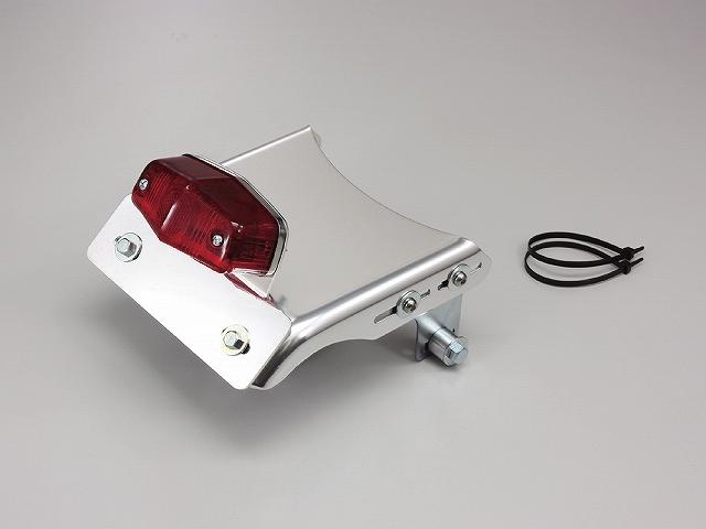 태풍 HA5578 리어 펜더 레 키트 광택 알루 루카스 미니 테일 램프를 갖춘 SR400/500