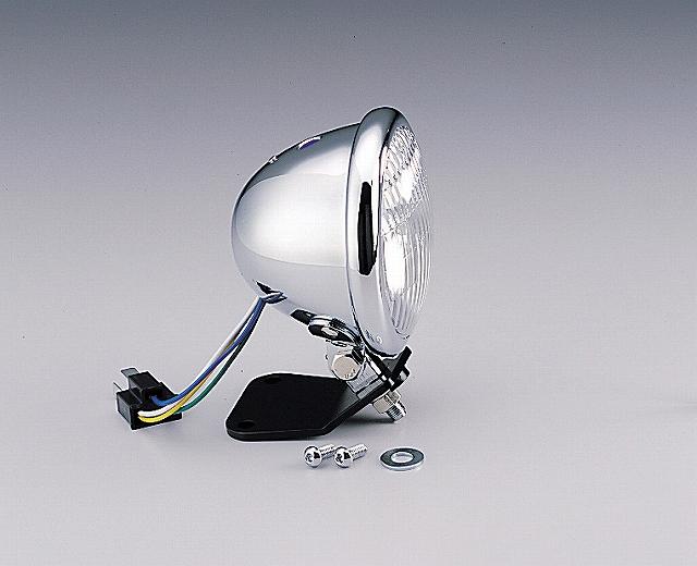 ハリケーン HA5601CR-01 4.5マルチリフレクターヘッドライトキット クリアレンズ ベーツタイプ ドラッグスター250/400/1100 ハリケーン ha5601cr-01