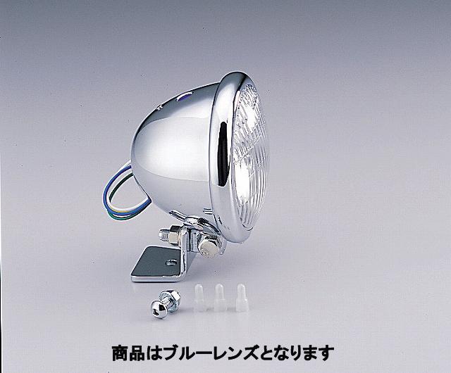 ハリケーン HA5605BU 4.5マルチリフレクターヘッドライトキット ブルーレンズ ベーツタイプ マグナ50 ハリケーン ha5605bu