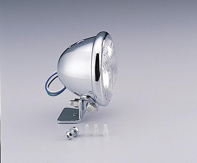 ハリケーン HA5605CR 4.5マルチリフレクターヘッドライトキット クリアレンズ ベーツタイプ マグナ50 ハリケーン ha5605cr