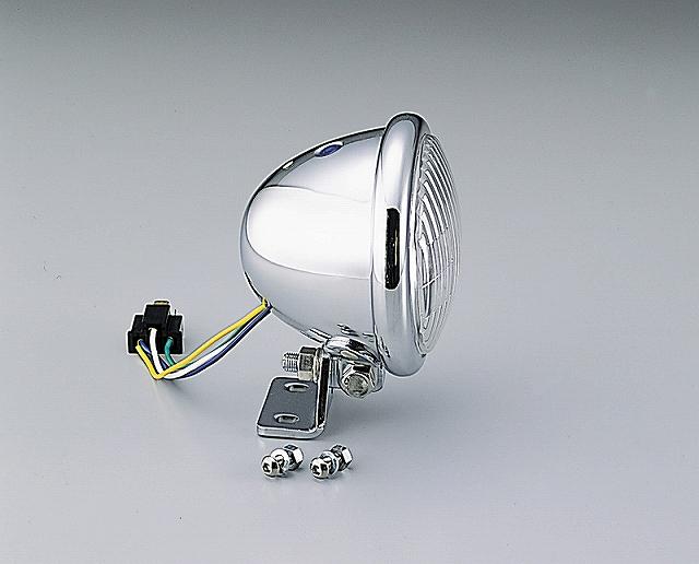 ハリケーン HA5610CR 4.5マルチリフレクターヘッドライトキット クリアレンズ ベーツタイプ グラストラッカー/ビッグボーイ.バンバン200 ハリケーン ha5610cr