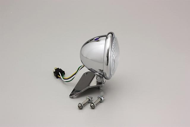 ハリケーン HA5651CR 4.5マルチリフレクターヘッドライトキット クリアレンズ ベーツタイプ シャドウクラシック/カスタム.シャドウ750('04-) ハリケーン ha5651cr