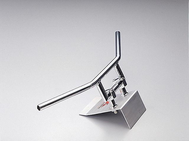 ハリケーン HB0106C-01 100Z型 クロームメッキ 外径φ22,2mm 内径φ18mm 全高90mm 全巾670mm ハリケーン hb0106c-01