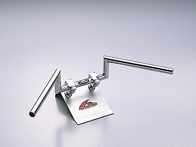 ハリケーン HB0107C 100ロボット1型 クロームメッキ 外径φ22,2mm 内径φ18mm 全高100mm 全巾570mm ハリケーン hb0107c