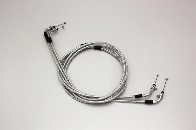 ハリケーン HB6065M スロットルケーブル W ステンメッシュ フェイズ/S(MF11).フォルツァX/Z('08-'10 MF10) 220mmロング ハリケーン hb6065m