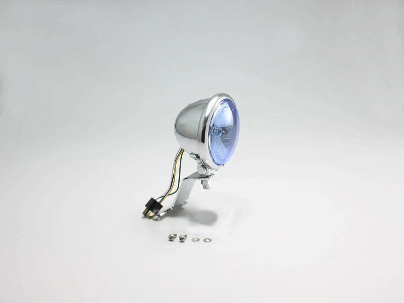 ハリケーン HA5600BU 4.5マルチリフレクターヘッドライトキット ブルーレンズ エストレヤ(FI車)