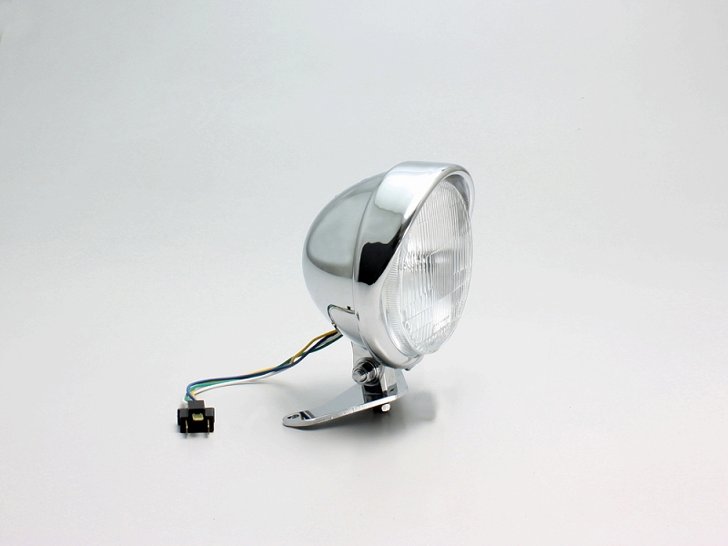 ハリケーン HA5636 5.5ベーツバイザーTYPEヘッドライトキット クロームメッキ BOLT ボルト/R/ABS