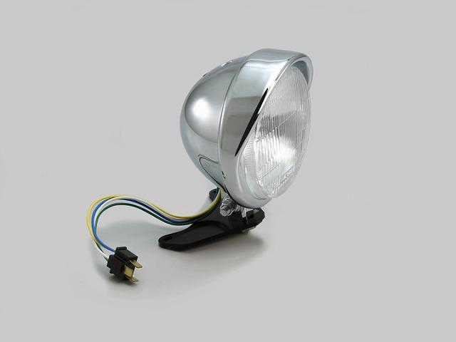 ハリケーン HA5637 5.5ベーツバイザータイプ ヘッドライトキット クロームメッキ レブル250(MC49) レブル500(PC60)