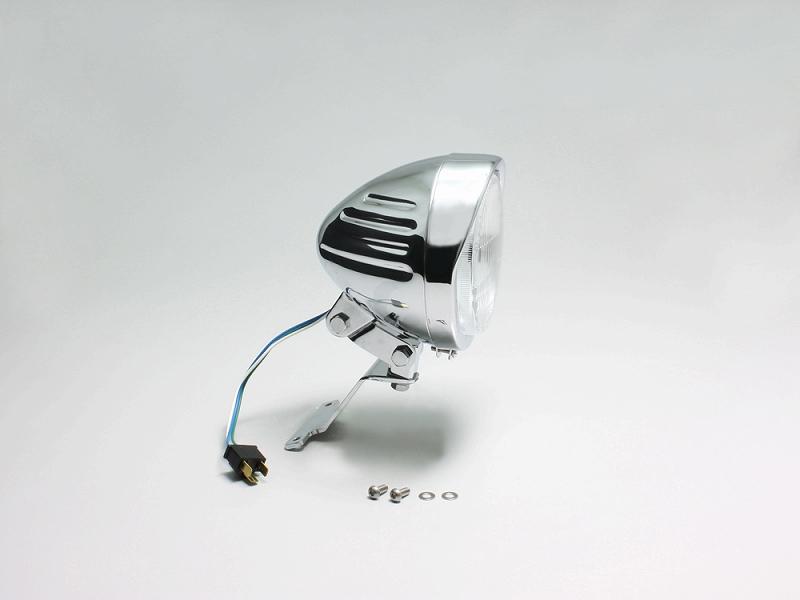 ハリケーン HA5646 5.5ハイパワースリットライトキット クロームメッキ エストレヤ(FI車)