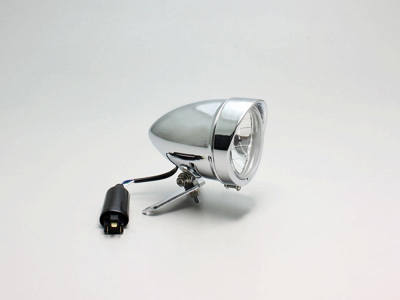 ハリケーン HA5653 4.5マルチスリムヘッドライトキット クロームメッキ BOLT ボルト/R/ABS