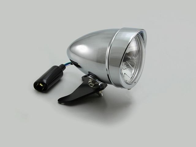 ハリケーン HA5654 4.5マルチスリム ヘッドライトキット クロームメッキ レブル250(MC49) レブル500(PC60)