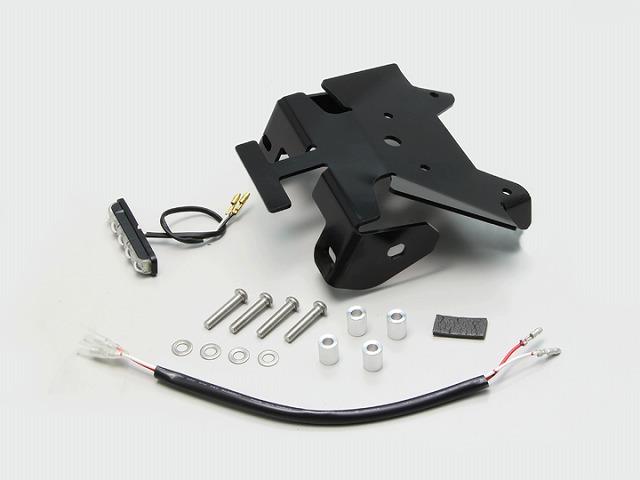 ハリケーン HA6649 フェンダーレスキット ブラック LEDライセンスランプ付 ボルトオン GSX250R(DN11A)