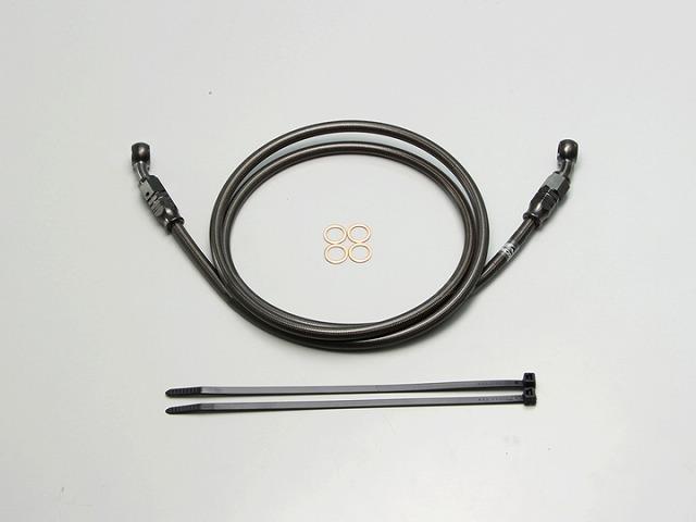ハリケーン HB7P125SB SURE SYSTEM LINE ブレーキホース メッシュ Pタイプ ブラック 長さ125cm フル・ステンレス製