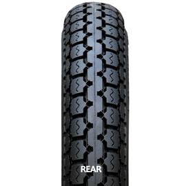 IRC井上橡胶1万2144W NR 6 2.75-14 6PR WT后部摩托车轮胎IRC井上橡胶12144w