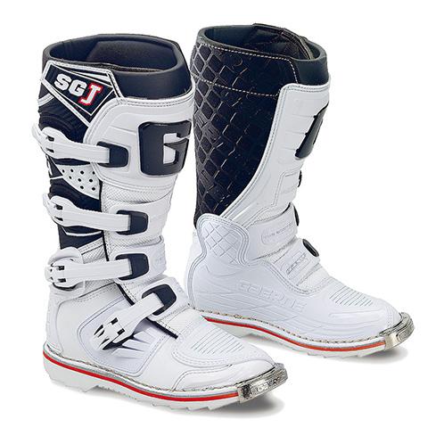 ガエルネ SG-J ホワイト オフロード ブーツ 23.0cm