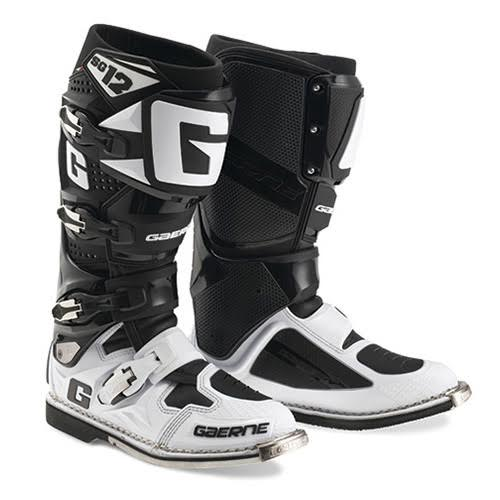 ガエルネ SG-12 ホワイト ブラック オフロード ブーツ 27.0cm 割引セール クリスマス会 お買い得 返品OK お彼岸