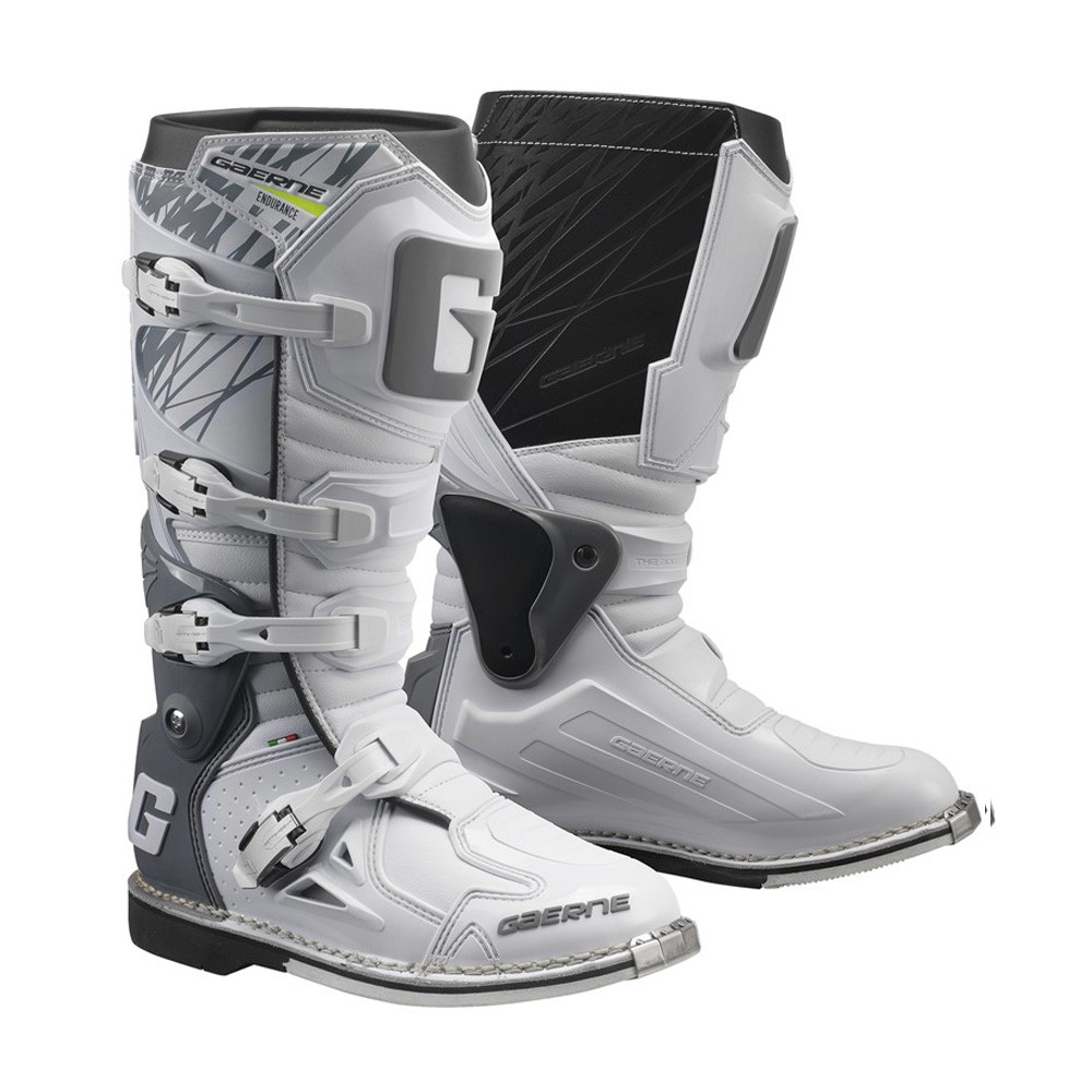 ガエルネ ファストバック ホワイト オフロード ブーツ 26.5cm ガエルネ ファストバック ホワイト オフロード ブーツ 26.5cm
