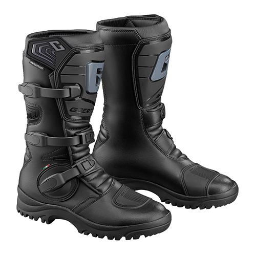 ガエルネ Gアドベンチャー ブラック オフロード ブーツ 29.0cm ガエルネ Gアドベンチャー ブラック オフロード ブーツ 29.0cm