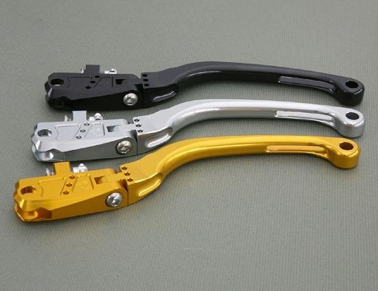 Kファクトリー ケイファクトリー K-FACTORY ビレットクラッチレバー 可倒式 BMW クラッチ側 タイプR ストロングゴールド 000HZBX038T