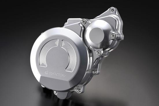 Kファクトリー ケイファクトリー K-FACTORY クランクエンドカバーL シルバー CB1300SF'03-'09/SB 000IZBM007H