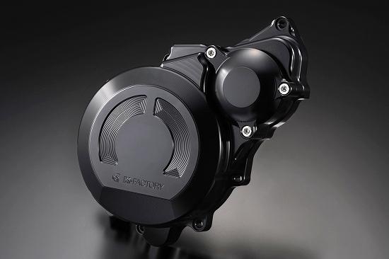 Kファクトリー ケイファクトリー K-FACTORY クランクエンドカバーL スーパーブラック CB1300SF'03-'09/SB 000IZBM007R