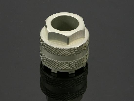 Kファクトリー ケイファクトリー K-FACTORY トップキャップレンチ オーリンズ正立フロントフォーク用 シャンパンゴールド 000IZDF001E