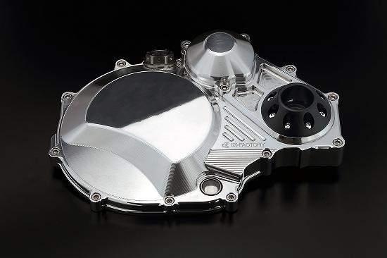 Kファクトリー ケイファクトリー K-FACTORY クラッチカバータイプ2 ポリッシュ ジュラコンスライダー付 ZRX/ZZR/GPZ 000IZDP009L