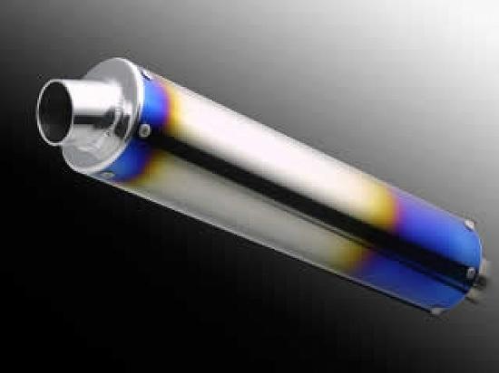 Kファクトリー ケイファクトリー K-FACTORY クワトロサイレンサー チタン両焼き仕様 100-42-450-C 000PAZZZAG1111