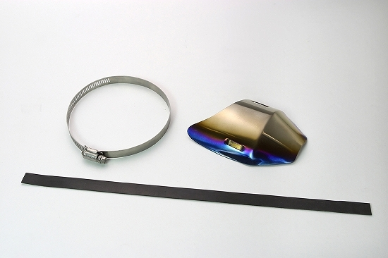 Kファクトリー ケイファクトリー K-FACTORY サイレンサーシェルガード チタン Sサイズ 左側 000WZAV005P