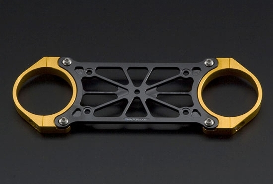 Kファクトリー ケイファクトリー K-FACTORY フロントスタビライザー ブラック/ゴールド オーリンズ正立フォーク用φ43 000XZAC003R