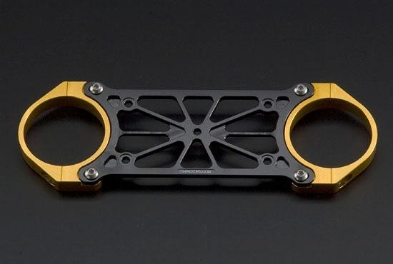 Kファクトリー ケイファクトリー K-FACTORY フロントスタビライザー ゴールド/ゴールド オーリンズ正立フォーク用φ43 000XZAC003T
