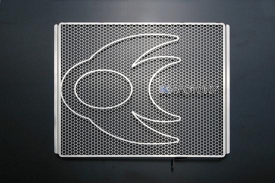 Kファクトリー ケイファクトリー K-FACTORY ラジエターコアガード Bタイプ ZZR1400/ZX-14R 101CZAA067Z