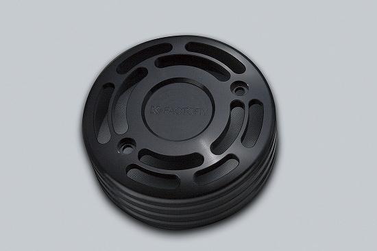 Kファクトリー ケイファクトリー K-FACTORY ジェネレーターカバー タイプ2 スーパーブラック ゼファー1100 111IZBP002R
