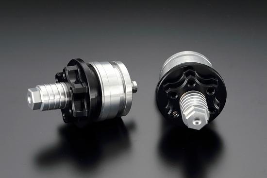 Kファクトリー ケイファクトリー K-FACTORY フロントフォークトップキャップ スーパーブラック Z250 '13- 165XZDR020R