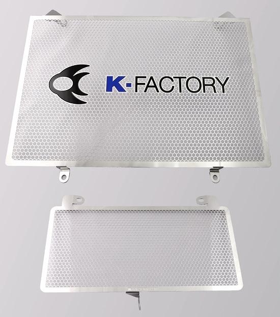 Kファクトリー ケイファクトリー K-FACTORY ラジエターコアガード Aタイプ GSX1300R 隼 '08- 244CZAA073Z