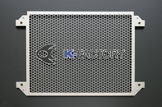 Kファクトリー ケイファクトリー K-FACTORY ラジエターコアガードセット Aタイプ ガーメッシュセット付 V-MAX 304CZAA096Z