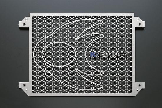 Kファクトリー ケイファクトリー K-FACTORY ラジエターコアガードセット Bタイプ ガーメッシュセット付 V-MAX 304CZAA097Z